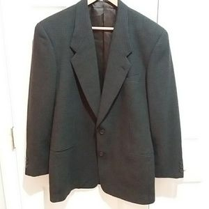 Giorgio Armani Wool Blend Sports Coat Sz 38 R